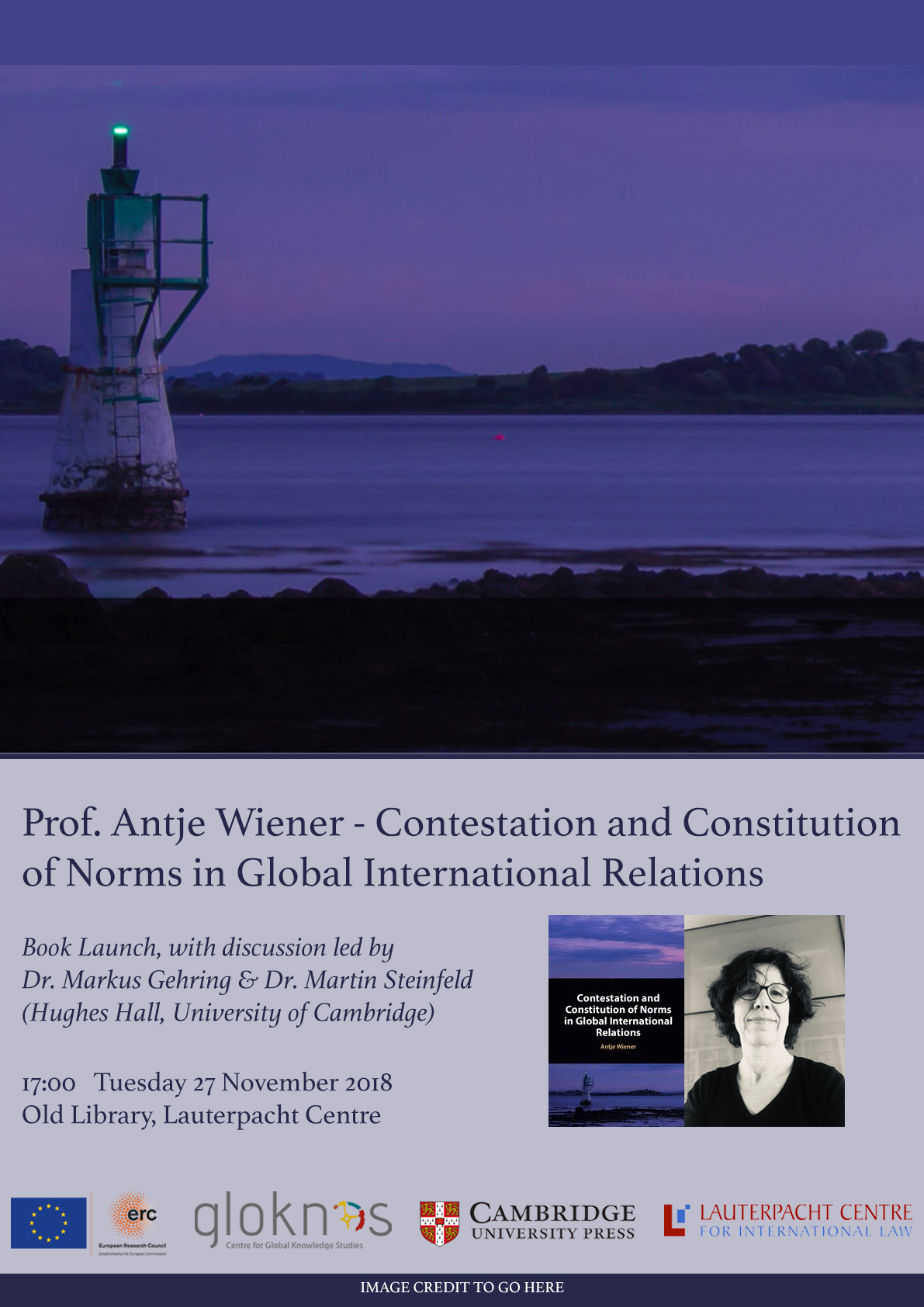 LCIL Book Launch: 'Contestation and Constitution of Norms in