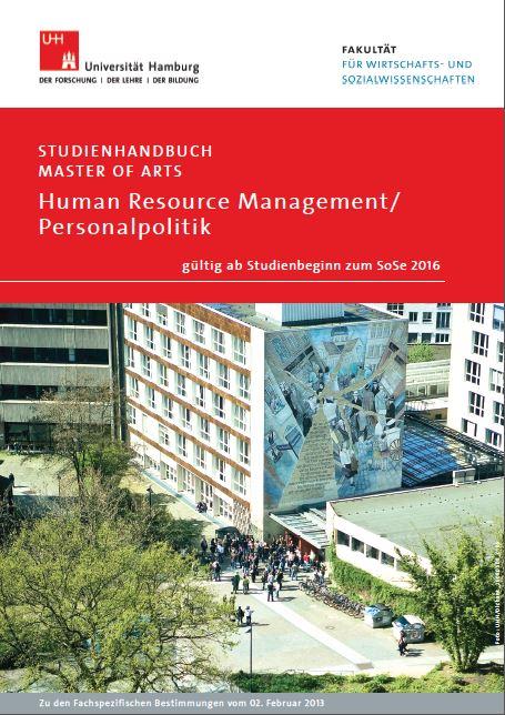 Profil m a human resource management universit t hamburg for Uni hamburg studiengange