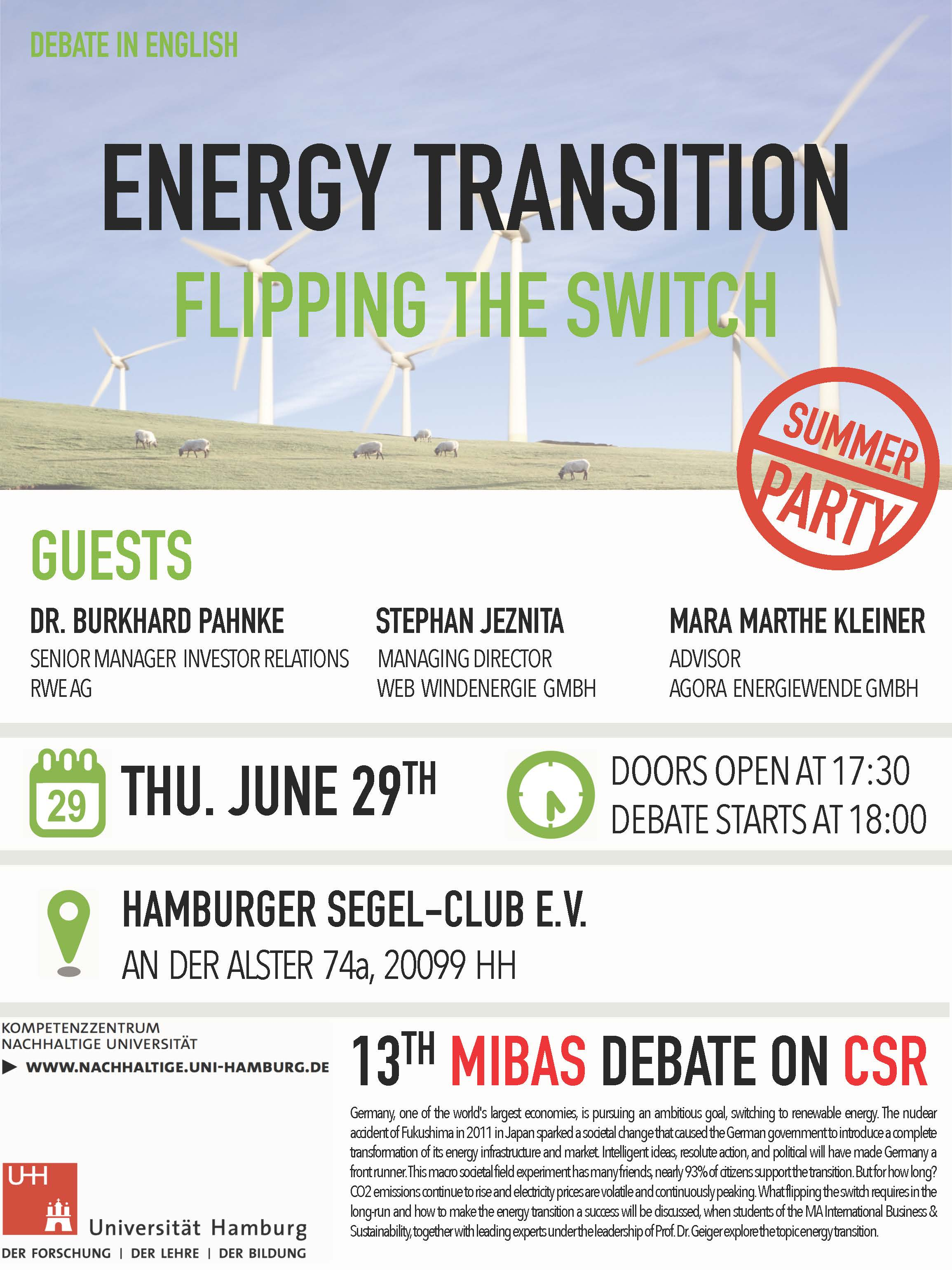 Energy Transition - Flipping the switch : MIBAS Debates 2017 ...